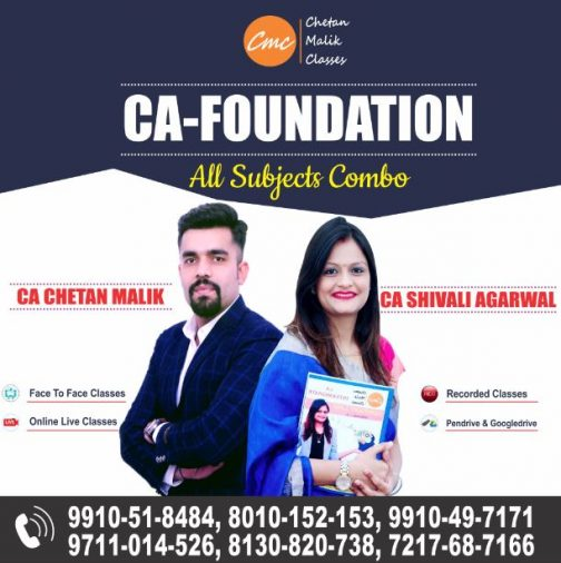 CA Foundation all Subjects