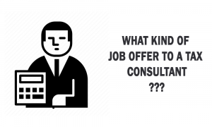 What kind of job offers to a tax consultant